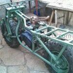 2wd motorcycle frame build (31)